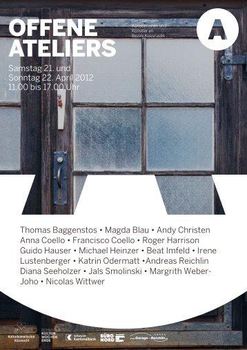 Samstag 21. und Sonntag 22. April 2012 11.00 ... - Diana Seeholzer