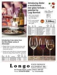 special - Longo Food Service Equipment Inc.