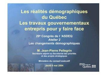 Jean-Pierre Pellegrin - Association des économistes québécois