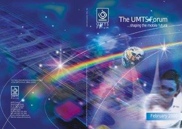 The UMTS Forum