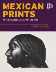 Mexican Prints book format (English) - Minneapolis Institute of Arts