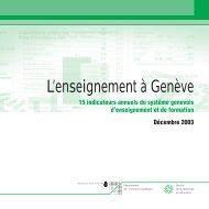 mep sred - Etat de Genève