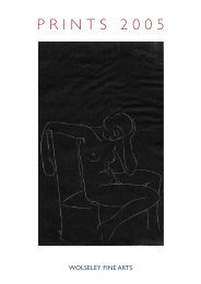 PRINTS 2005 - Wolseley Fine Arts
