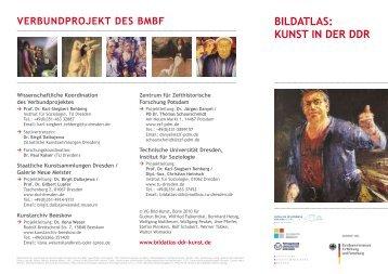 EIN VERBUNDPRoJEKT DES BMBF - Bildatlas: Kunst in der DDR