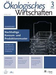 Nachhaltige Konsum- und Produktionsmuster - Institut für ...