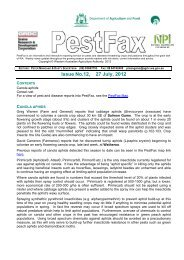 Issue No.12, 27 July, 2012 - Department of Agriculture and Food
