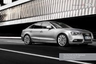 The Audi A5 and S5 Sportback Pricing and Specification Guide
