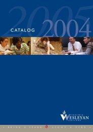 2004-2005 Catalog - Virginia Wesleyan College