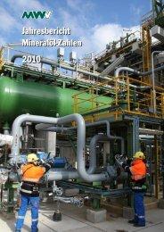 Jahresbericht 2010 -  MWV