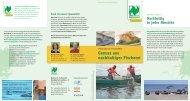 Genuss aus nachhaltiger Fischerei (pdf-Datei, 1,9 - Naturland