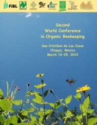 Second World Conference in Organic Beekeeping - Naturland