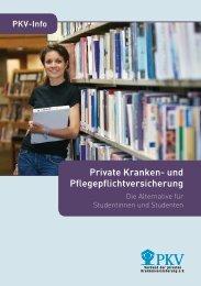 Private Kranken- und Pflegepflichtversicherung - PKV - Verband der ...