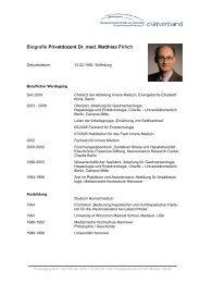 Download: Lebenslauf PD Dr. Matthias Pirlich