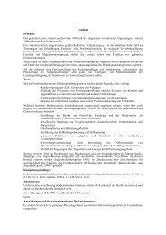 Begutachtungsentwurf - SOS Kinderdorf