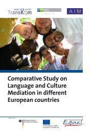 Comparative Study on Language and Culture Mediation ... - Transkom