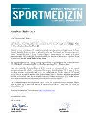 Newsletter Oktober 2012