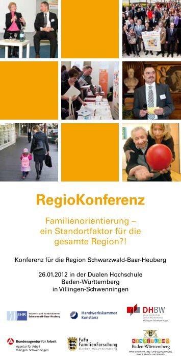 RegioKonferenz - Kompetenzzentrum Beruf & Familie Baden ...