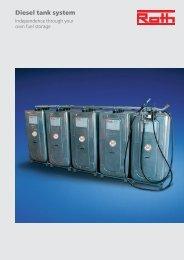 Diesel tank system - Roth Werke