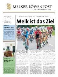 Melk ist das Ziel - Löwenpost Juli/August (3 - Stadtgemeinde Melk