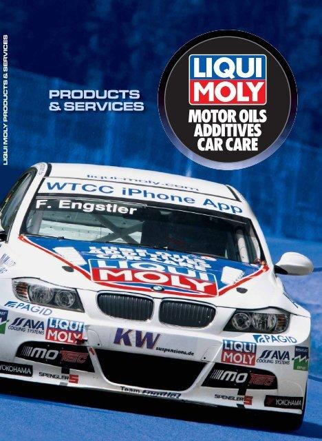 MOTOR OILS ADDITIVES CAR CARE - LIQUI MOLY