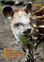 PDF 2.36 MB - Rīgas Zooloģiskais Dārzs