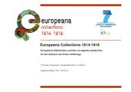 Europeana Collections 1914-1918 - Deutscher Museumsbund