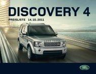 PREISLISTE 14.10.2011 - Land Rover