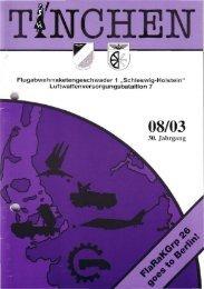 Staffelübergabe Vers/26, NIKE aus Gatow geholt
