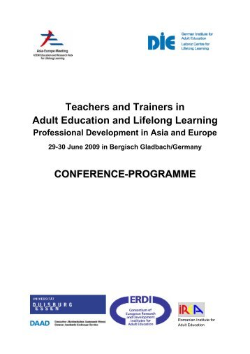 Teachers and Trainers in Adult Education and Lifelong Learning ...