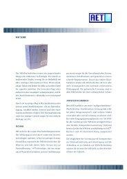 Datenblatt: Conergy WR Serie