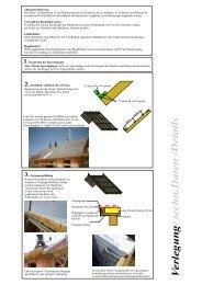 2.Dachfläche einlatten