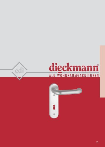 modell 103 / alu wohnraum garnituren - Dieckmann