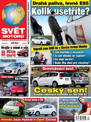 Kolik ušetříte? - Svět Motorů - Auto.cz