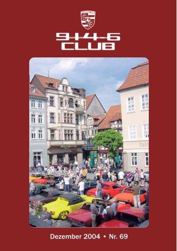 Dezember 2004 • Nr. 69 - Porsche 914-6 Club e.V.