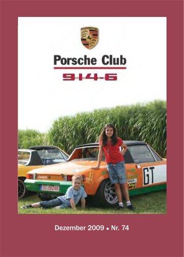 Dezember 2009 Nr. 74 - Porsche 914-6 Club e.V.