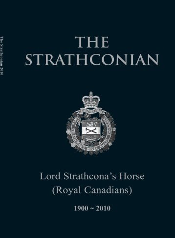 The Strathconian 2010 - Lord Strathcona's Horse (Royal Canadians)