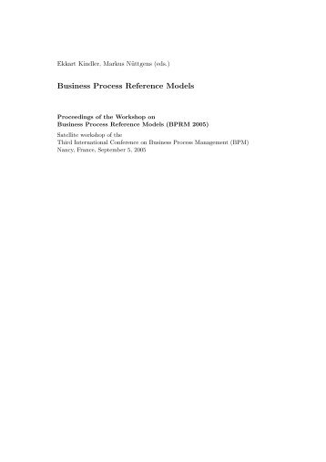 Business Process Reference Models