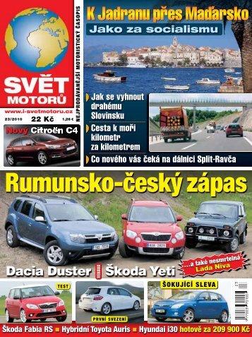 Rumunsko-český zápas - Svět motorů - Auto.cz