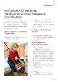 Gut leben mit dem neuen Kniegelenk - Orthopädisches Spital Speising - Page 4
