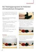 Gut leben mit dem neuen Kniegelenk - Orthopädisches Spital Speising - Page 7