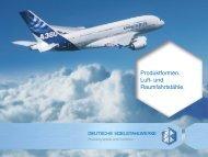 Produktformen. Luft- und Raumfahrtstähle. - DEW-STAHL.COM