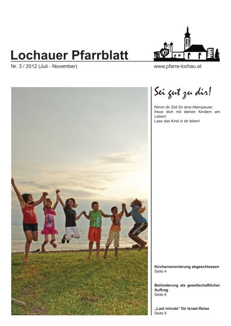 Lochauer Pfarrblatt - Pfarre Lochau
