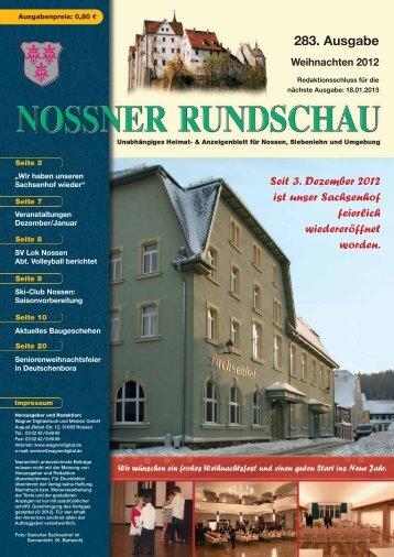 LESERBRIEFE - Nossner Rundschau