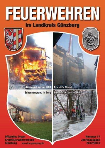 Ausgabe des Jahres 2012 - Kreisfeuerwehrverband Günzburg