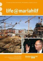 Laden Sie diese Ausgabe hier herunter - Kliniken Maria Hilf GmbH