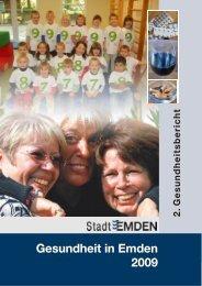 Gesundheitsbericht 2009 - Stadt Emden