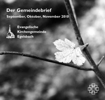 Gemeindebrief 3 / 2010 - Omniro.de