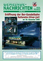 weitere beschlüsse - Tourismusverband Pichl-Mandling