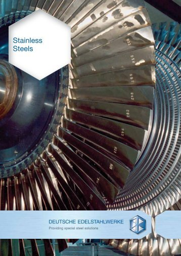 Stainless Steels - DEW-STAHL.COM