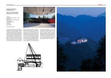 Architektur Information (Arch. Johannes Zieser), PDF - Burgarena ...